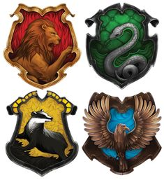 Hogwarts House Crests Simple Crest fits with the house