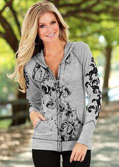 Women's Scroll print jacket