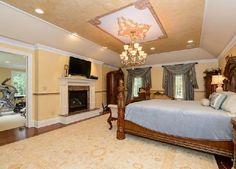 Master Suite with Gas Fireplace. #DonnamarieChaimanis #Muttontown #GoldCoast #GoldCoastRealtor #iSellHomes #MillionDollarListings #NassauCounty #LongIsland #Realtor #RealEstate #LuxuryHomes #LuxuryListings #DreamHome #DreamHouse