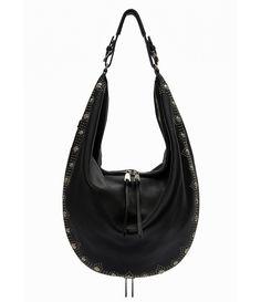 20df6e24f Etienne Aigner Moda Studded Hobo Bag Etienne Aigner, Pebbled Leather, Hobo  Bag, Dillards
