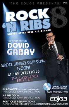 Poster we designed for a Dovid Gabay concert in Canada. #DovidGabay #Edmonton