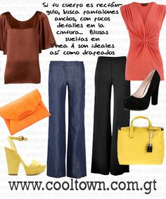Silueta: Rectángulo | Styling Tip: El Pantalón que Mejor te Luce | CoolTown Fashion