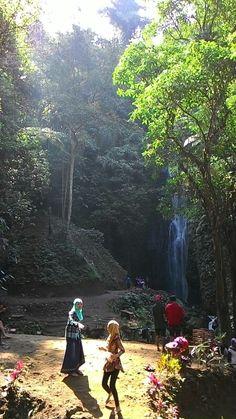 Air terjun coban baung terletak d desa gendogo gunung kawi kec.Wonosari Malang