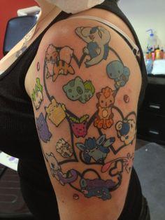 Cool Pokemon tattoo by JD Grim