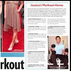 Daisy Duke workout