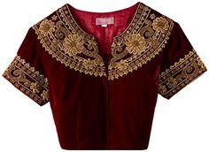 Pankhuri Velvet Front Button Blouse (PRZB 14a_Maroon_S) Pankhuri http://www.amazon.in/dp/B00NSOJBCI/ref=cm_sw_r_pi_dp_-ClYub04PRHQT