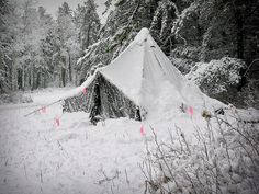 winter camping advantages