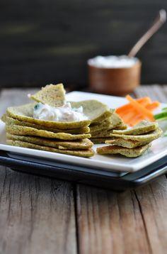lentil pancakes w/ coriander yogurt dip ++ anja's food 4 thought #glutenfree