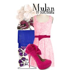 """Mulan"" by lalakay on Polyvore #disney"