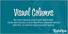 Review Visual Columns for WordPressyou will get best price offer lowest prices or diccount coupone