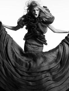 Dream Couture | Anja Rubik | Greg Kadel #photography | Vogue China April 2007