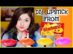 DIY LIPSTICK OUT OF STARBURSTS?!, xxmakeupiscoolxx, My Crafts and DIY Projects