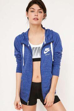 Nike Gym Vintage Full Zip Hoodie Sweatshirt - Urban Outfitters