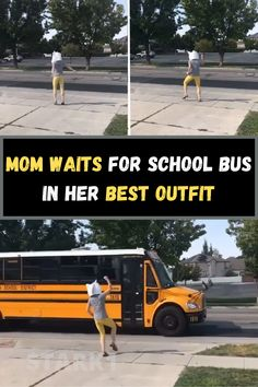 Being a parent is the most rewarding and toughest job in the world. Sometimes, it's also considered a parent's duty to embarrass their children as much as possible – all with a big smile, of course. That's definitely something that this mom has done, who is now known as the 'Bus Stop Mama'.