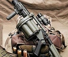 Airsoft Grenade Launcher