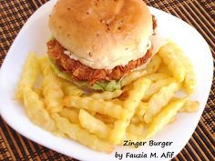 Chip Butty - Fauzia's Kitchen Fun Kfc, Chicken Slices, Chicken Strips, Delicious Burgers, Food Places, Dinner Is Served, Burger Recipes, Indian Food Recipes, Kenyan Recipes