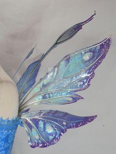 Fairy dress Azarelle Wings Wedding by FaeryAzarelle Buying Bespoke Mens Shirts - The Benefits Butterfly Fairy, Butterfly Wings, Fairy Wings Costume, Diy Fairy Wings, Fairy Costumes, Renaissance, Blue Fairy, Fairy Princesses, Fairy Dress
