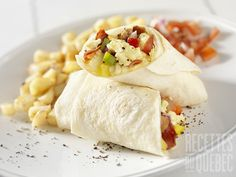 10 Healthy Breakfast Recipes That Can Help You Lose Weight Healthy Breakfast Menu, Breakfast Wraps, Breakfast Burritos, Make Ahead Breakfast, Eat Breakfast, Healthy Eating, Breakfast Ideas, Healthy Options, Healthy Life