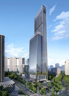 TP180 will be Singapore's tallest residences when completed! TP180, the premium condominium is part of Tanjong Pagar Centre which will feature fewer than 200 apartments ranging from one-bedroom to four-bedroom units and penthouses, will sit above Guoco Tower.