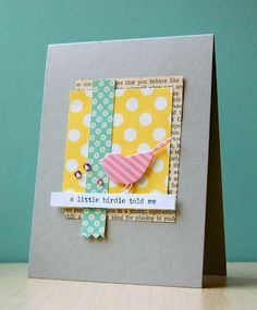 relaxed Collage style card by Christina