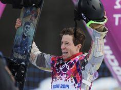 Shaun white / SOCHI 2014 #shaunwhite #snowboarding #sochi2014