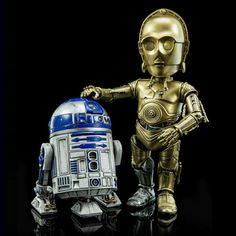 Hybrid Metal Figuration #024: Star Wars C-3PO & R2-D2 by Hero Cross (APR 2016) #starwars #c3po #r2d2 #hybridmetal #024 #herocross #awesome #cool #instacool #good #instagood #new #figuration024 #hk