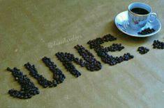 June ☕ #june #coffee