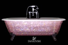 Swarovski Crystal Encrusted Bath Tub... yeah.... not too likely lol