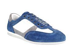JOOP! HERNAS Sneaker Suede Nylon, blau - http://on-line-kaufen.de/joop/joop-hernas-sneaker-suede-nylon-blau