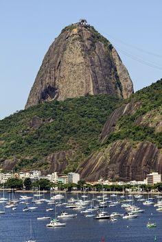 Pão de Açúcar e Urca, Rio de Janeiro, RJ, Brazil - By Antonello