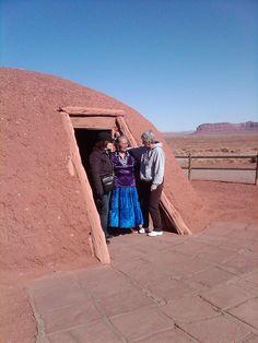 Hogan (Traditional Navajo Home) Monument Valley Arizona by Across Arizona Tours, via Flickr