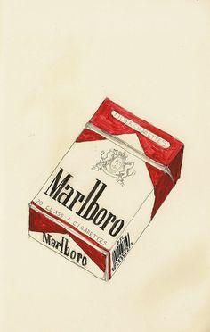 cigarette pack drawing - Google-søgning