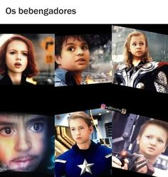look at their cute baby faces! Marvel Dc, Memes Marvel, Avengers Memes, Marvel Funny, Disney Marvel, Baby Avengers, The Avengers, Best Superhero, Film Serie