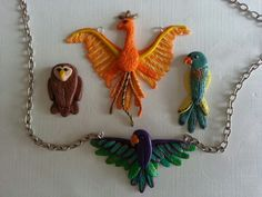 Oiseaux fimo