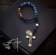 St. Benedict Rosary Bracelet custom order