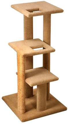 Pacific Pets Super Shelf Cat Tree - CatsPlay.com - Fun furniture, condos and climbing gyms for cats and kittens.