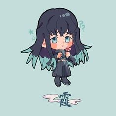 Demon Slayer( Kimetsu No Yaiba) Photo+memes - kawaii Dibujos Anime Chibi, Chibi Anime, Kawaii Chibi, Kawaii Anime, Manga Anime, Anime Art, Demon Slayer, Slayer Anime, Anime Angel