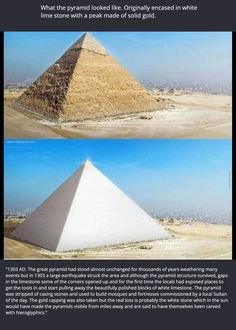 What they originally looked like. What they originally looked like. History Memes, History Facts, World History, Ancient Egypt, Ancient History, Science Facts, Science Quotes, Life Science, Wtf Fun Facts