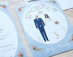 Beautiful Irish wedding stationery from Appleberry Press from handpainted whimsical designs to modern and graphic. Unique Wedding Invitations, Wedding Stationery, Irish Wedding, Wedding Inspiration, Wedding Ideas, Whimsical, Hand Painted, Day, Cards