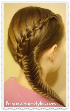 Scissor Waterfall Braid & Fishtail Braid Video Tutorial