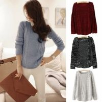 Buy here: http://www.wholesalebuying.com/product/ladies-weaving-pure-color-pullover-hollow-knitting-outwear-cardigan-34324