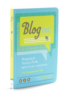 i want this book    Blog Inc., #ModCloth