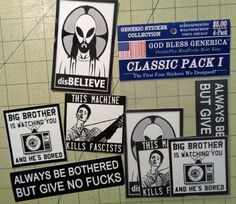 Classic Pack I  God Bless Generica Collector by GodBlessGenerica