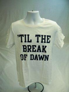 Aeropostale-Mens-Short-Sleeve-Til-the-break-of-dawn-T-shirt-White-size-L-New