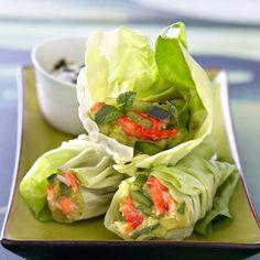 Krebssalat im Salatmantel Cold Dishes, Salty Foods, Asian Recipes, Ethnic Recipes, Brunch Party, Healthy Eating Tips, Eat Smarter, Fresh Rolls, Food Inspiration
