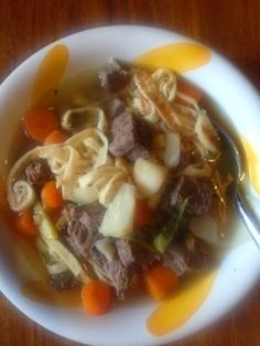 """twopeasinalunchbox: Fritattensuppe - """"Pancakesoup"""" ; BEST soup recipe on the planet (-:"""