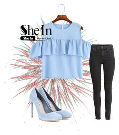 """she in"" by almina21 ❤ liked on Polyvore featuring H&M and Miu Miu"