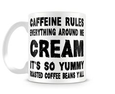 C.R.E.A.M - 11 oz Ceramic Coffee Cup Mug CAFFEINE Wu Tang Clan ODB Hip Hop Funny in Collectibles, Decorative Collectibles, Mugs, Cups | eBay