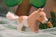 Our Shetland foal! Simply a cutie!  #ostheimer #ostheimerwoodentoys #woodenhorse #horse #pony #foal #holzspielzeug #ecotoys