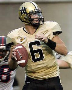 Jay Cutler # 6 QB Vanderbilt Commodores